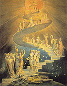 Jacobs Dream c1800 - William Blake