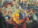 The Laugh 1911 - Umberto Boccioni reproduction oil painting