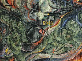 States of Mind I The Farewells 1911 - Umberto Boccioni reproduction oil painting