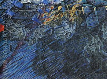 States of Mind II Those Who Go 1911 - Umberto Boccioni reproduction oil painting