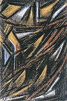 Rayonnist Composition c1912 - Natalia Gontcharova