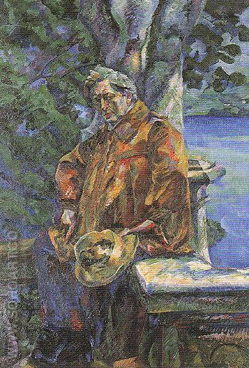 Portrait of Ferruccio Buson 1916 - Umberto Boccioni reproduction oil painting