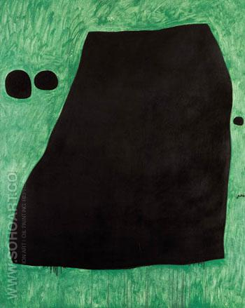 Paysage 1974 - Joan Miro reproduction oil painting