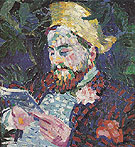 Portrait of Henri Carlier 1906 - Robert Delaunay reproduction oil painting
