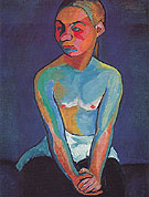 Young Finn 1907 - Sonia Delaunay reproduction oil painting
