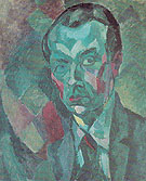 Self Portrait 1909 - Robert Delaunay reproduction oil painting