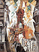 Champ de Mars 1911 - Robert Delaunay reproduction oil painting