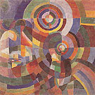 Electric Prisms 1914 - Sonia Delaunay reproduction oil painting