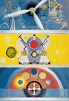 Engine and Control Panel 1936 - Robert Delaunay reproduction oil painting