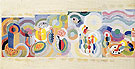 Long Journeys 1937 - Sonia Delaunay reproduction oil painting