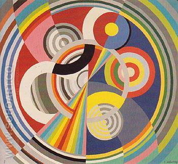 Rhythm No 1 1938 - Robert Delaunay reproduction oil painting