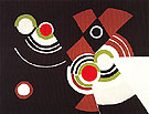 Coloured Rhythm 1948 - Sonia Delaunay reproduction oil painting