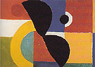 Rhythm Colour 1952 - Sonia Delaunay reproduction oil painting