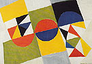 Rhythm Colour 1958 - Sonia Delaunay reproduction oil painting