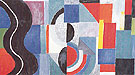 Syncopated Rhythm or the Black Serpent 1967 - Sonia Delaunay