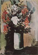 Vase with Flowers - Maurice de Vlaminck