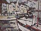 Landscape with Tugboat 1905 - Maurice de Vlaminck