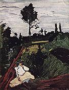 Woman in a Field 1905 - Maurice de Vlaminck