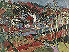 Hill in Bougival 1906 - Maurice de Vlaminck