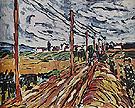 The Road 1907 - Maurice de Vlaminck