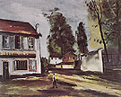 The Wine Shop 1924 - Maurice de Vlaminck