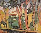 Landscape with Red Trees c1906 - Maurice de Vlaminck