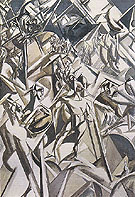 The Thebaide 1912 - Percy Wyndham Lewis
