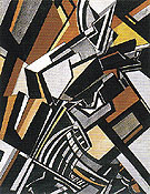 Composition 1913 - Percy Wyndham Lewis