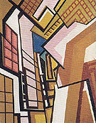 Workshop c1914 - Percy Wyndham Lewis