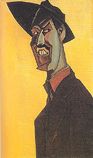 Mr Wyndham Lewis as a Tyro c1920 - Percy Wyndham Lewis reproduction oil painting