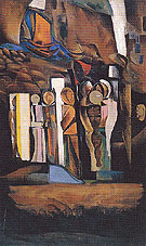 One of the Stations of the Dead 1933 - Percy Wyndham Lewis