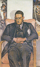 Portrait of TS Eliot 1938 - Percy Wyndham Lewis