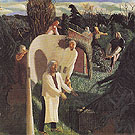 Zacharias and Elizabeth c1913 - Stanley Spencer