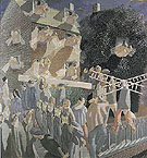 Christ Carrying the Cross 1920 - Stanley Spencer