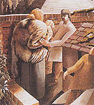 The Meeting 1933 - Stanley Spencer