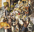 The Dustman or the Lovers 1934 - Stanley Spencer