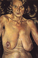 Nude Portrait of Patricia Preece 1935 - Stanley Spencer