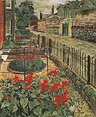 Gardens in the Pound Cookham 1936 - Stanley Spencer