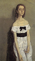 Girl with Bare Shoulders c1909 - John Gwen