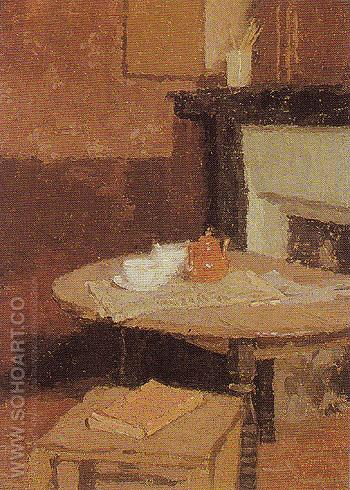 The Teapot1915 - John Gwen reproduction oil painting