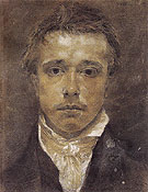 Self Portrait c1824 - Samuel Palmer reproduction oil painting