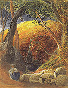 The Magic Apple Tree c1829 - Samuel Palmer reproduction oil painting