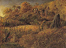 Scene at Underriver Kent or The Hop Garden c1833 - Samuel Palmer reproduction oil painting
