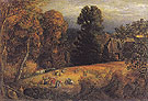 The Gleaning Field c1833 - Samuel Palmer reproduction oil painting