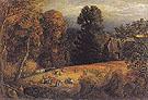 The Gleaning Field c1833 - Samuel Palmer