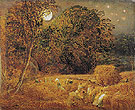 The Harvest Moon 1833 - Samuel Palmer reproduction oil painting
