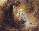 The Waterfalls Pistil Mawddach North Wales c1835 - Samuel Palmer reproduction oil painting