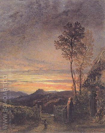 The Rising of the Skylark c1843 - Samuel Palmer reproduction oil painting