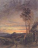 The Rising of the Skylark c1843 - Samuel Palmer