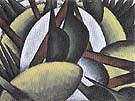 Plant Forms c1912 - Arthur Dove reproduction oil painting